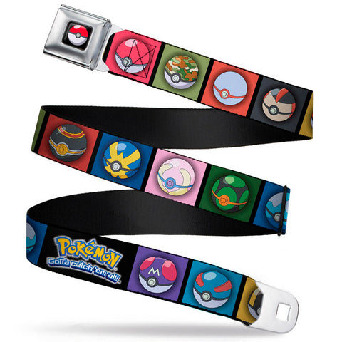 Pokémon Poké Ball Squares Belt