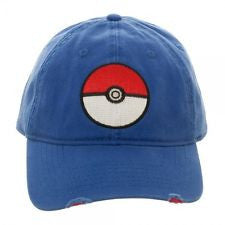 Pokémon Poké Ball Distressed Dad Hat
