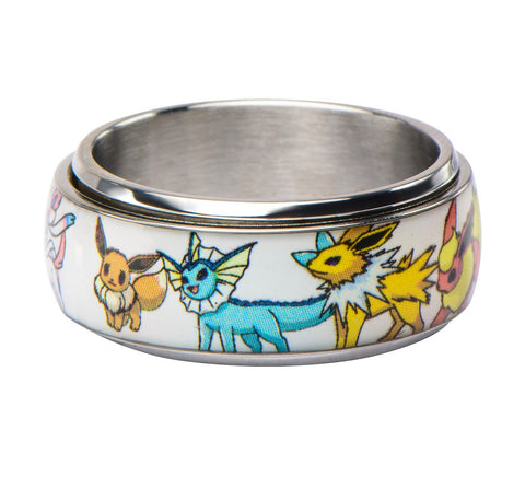 Pokémon Eevee Evolutions Ring