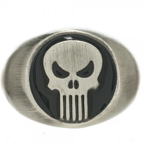 The Punisher Logo Ring