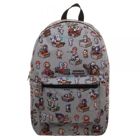 Re:Zero Character Gray Backpack