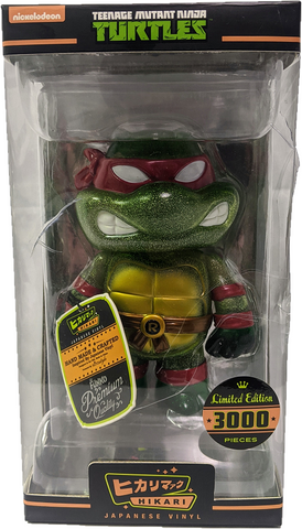 Teenage Mutant Ninja Turtles Raphael Clear Glitter Hikari (Box Damage)