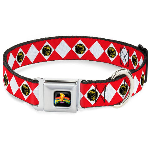 Power Rangers Red Ranger Dog Collar