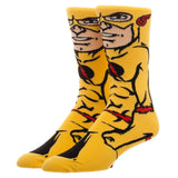 Reverse Flash Character Crew Socks