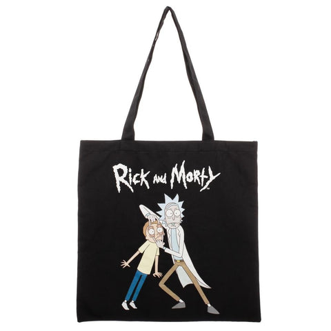 Rick & Morty Canvas Tote Bag