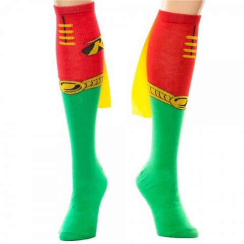 Robin Knee High Cape Socks