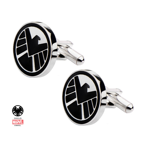 Marvel Agents of Shield Logo Cuff Links