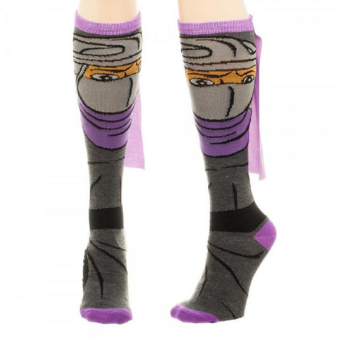 Teenage Mutant Ninja Turtles Shredder Knee High Socks