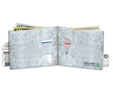 Mighty Silver Tyvek Wallet