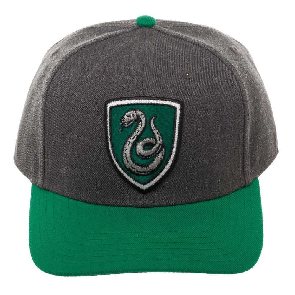 2c0bda70ca0e2 Slytherin Heather Crest Hat – Gaming Outfitters