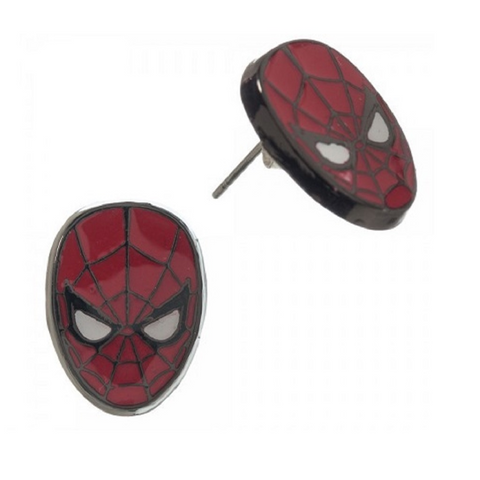 Spider-Man Mask Stud Earrings