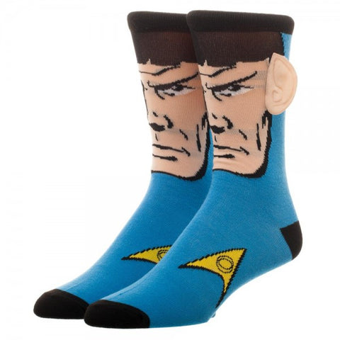 Star Trek Spock Crew Socks