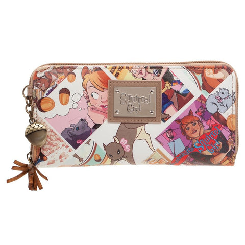 Squirrel Girl Zipper Wallet