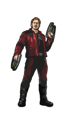 Avengers Infinity War Star-Lord FiGPiN