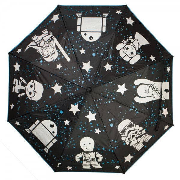 Star Wars Characters Color Changing Umbrella Gaming Outfitters