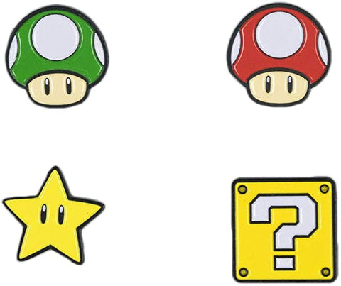 Super Mario Bros. Item Pins