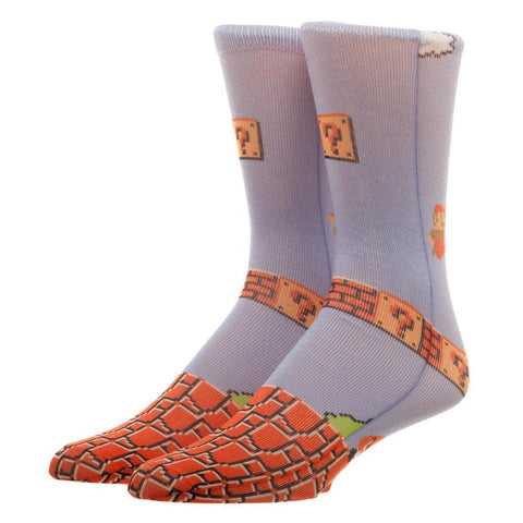 Super Mario Bros. Gameplay Crew Socks