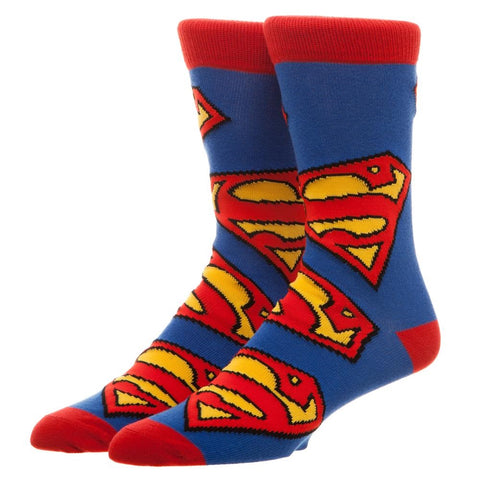 Superman Large Logo's Crew Socks