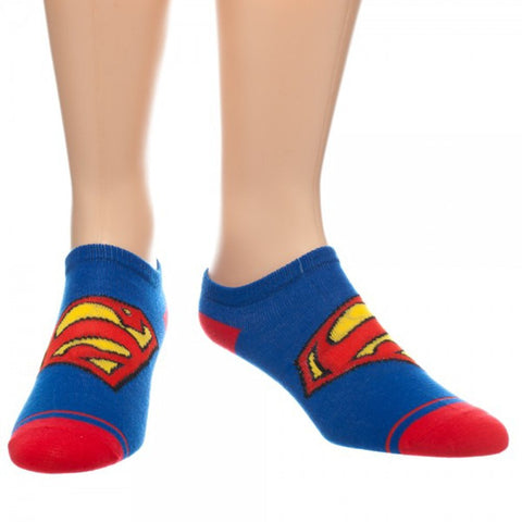 Superman Logo Ankle Socks