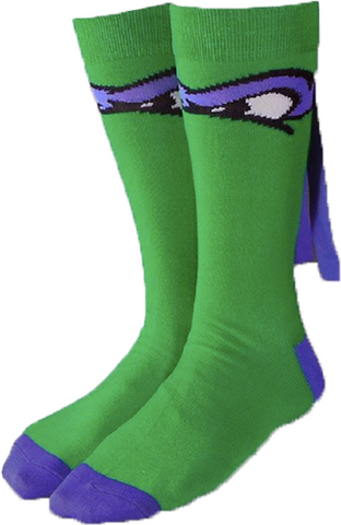 Teenage Mutant Ninja Turtles Donatello Crew Socks