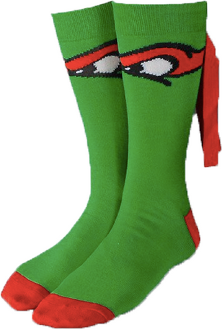 Teenage Mutant Ninja Turtles Raphael Crew Sock