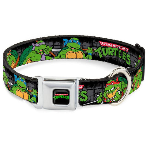 Teenage Mutant Ninja Turtles Posing Dog Collar