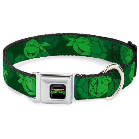 Teenage Mutant Ninja Turtles Faces Dog Collar