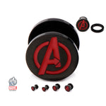 Avengers Plug Earrings