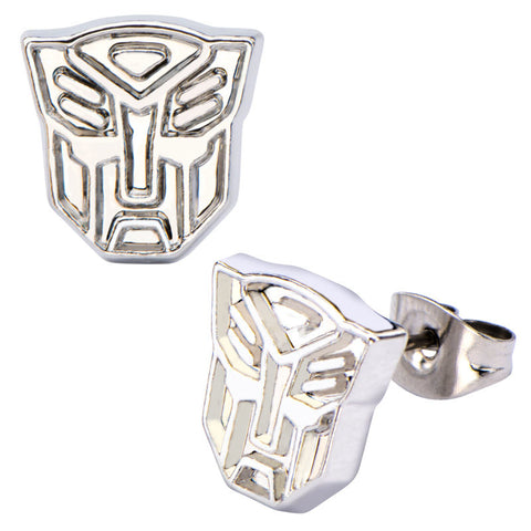 Transformers Autobots Stud Earrings