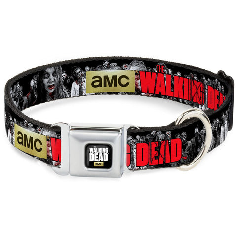 The Walking Dead Black & White Horde Dog Collar