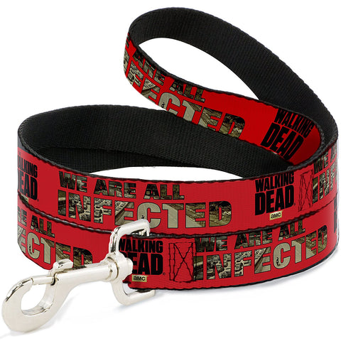 The Walking Dead We Are All Infected Dog Leash