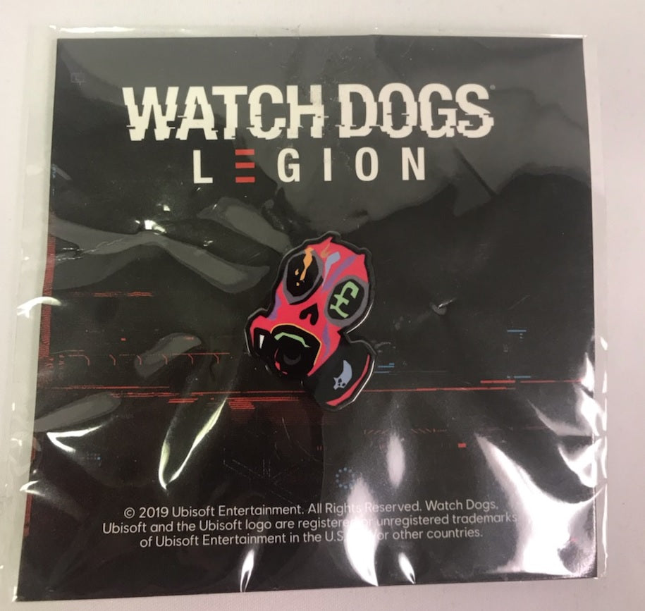 Watch Dogs Legion E3 Exclusive Pins Gaming Outfitters