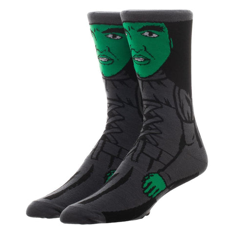 The Wizard of Oz Wicked Witch Character Crew Socks