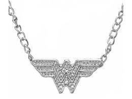 Wonder Woman Faux Stud Necklace