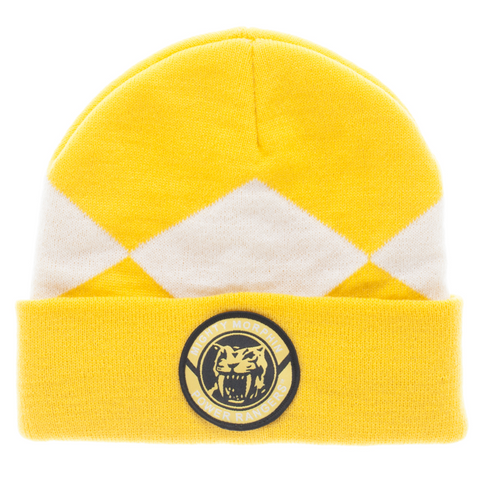 Power Rangers Yellow Ranger Beanie