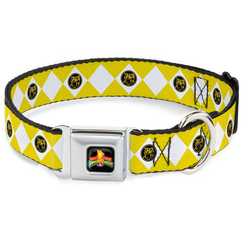 Power Rangers Yellow Ranger Dog Collar