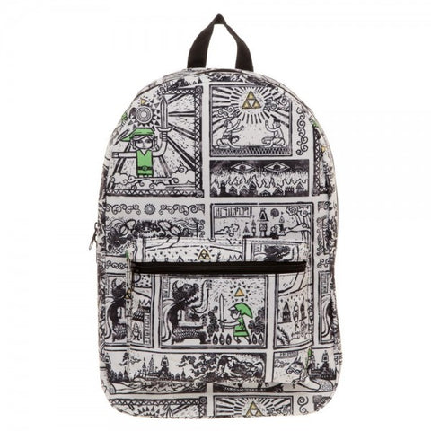 The Legend of Zelda Drawings Backpack