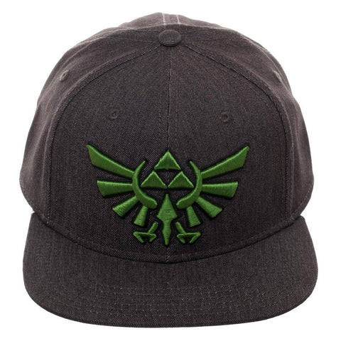 The Legend of Zelda Green Logo Hat