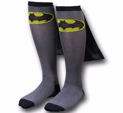 Batman Knee High Socks With Capes