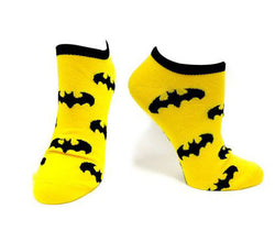 Batman Logos Repeating Ankle Socks