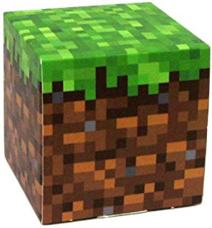 Minecraft Grass Block Paper Craft