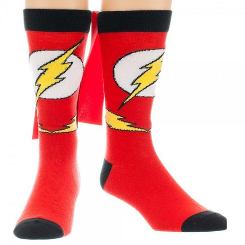 The Flash Cape Crew Socks