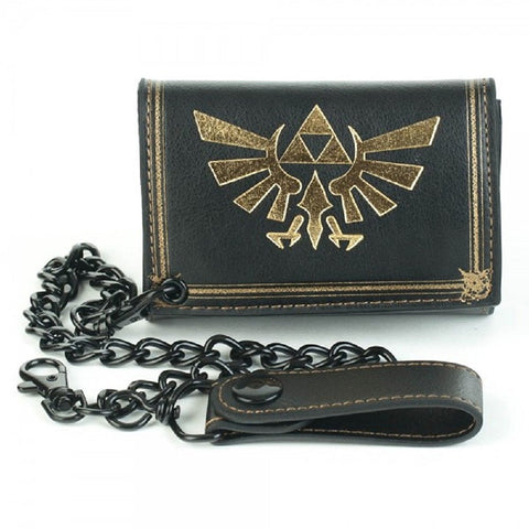 The Legend of Zelda Black Chain Wallet