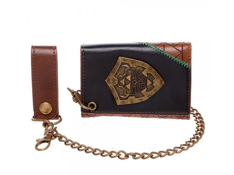 The Legend of Zelda Hylian Shield Chain Wallet