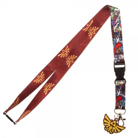 The Legend of Zelda Wind Waker Lanyard