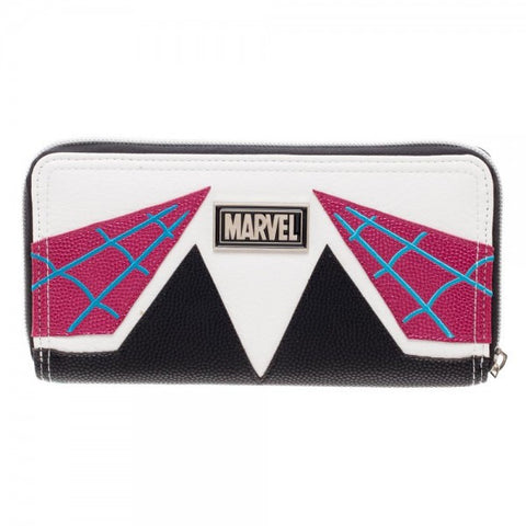 Spider-Gwen Zipper Wallet