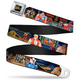 Street Fighter Character Stages Belt