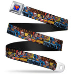 Superman Comic Strip Belt