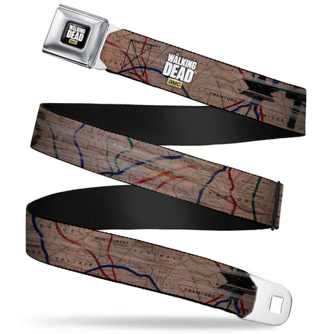 The Walking Dead Terminus Map Belt