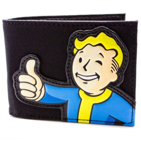 Fallout Vault Boy Thumbs Up Wallet